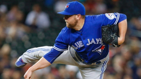 Relief pitcher Drew Storen had a 1-3 record and 6.21 ERA with the Blue Jays so far this season before Toronto traded him to the Mariners on Tuesday.