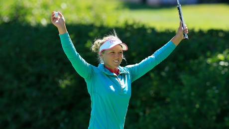 Brooke Henderson became the first Canadian female golfer in 48 years to win a major championship.