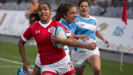 Magali Harvey's exclusion from Canada's Olympic sevens roster surprised many rugby fans.