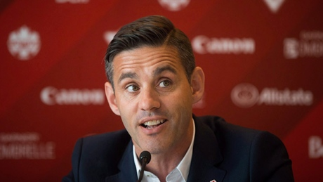 Canadian national women's soccer team coach John Herdman thinks backup goalie Sabrina D'Angelo will recover from her injury in time to be ready for the Olympics.