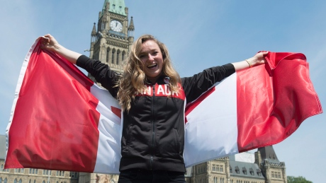 Canada's flag-bearer Rosie MacLennan will lead 313 athletes into the opening ceremony of the Rio Olympics on Aug. 5.