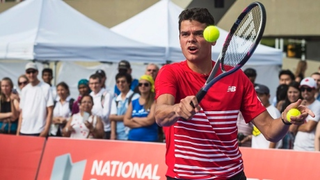 Milos Raonic is seeded fourth in next week's Rogers Cup in Toronto.