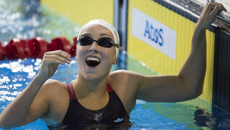 Canada's Emily Overholt, pictured at last summer's Pan Am Games in Toronto, is gearing up for her first Summer Olympics next month in Rio.